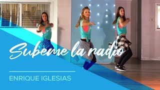 getlinkyoutube.com-SUBEME LA RADIO - Enrique Iglesias - Easy Fitness Dance - Zumba - Baile - Choreography