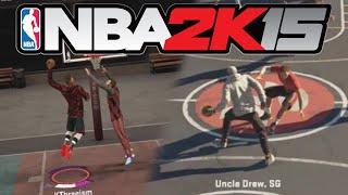 getlinkyoutube.com-NBA 2K15 MyPARK - UNCLE DREW BACK FOR THE KIDS!!?? #RealUncleDrew #Phone-EG