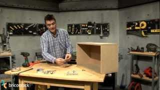 Carpintería: montar una bisagra de cazoleta (Bricocrack)
