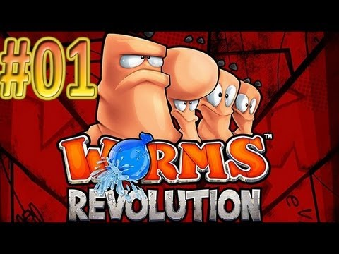 Worms Revolutions Gameplay ITA #01 - Siamo dei vermi...ed è fighissimo - Rubrica Arcade