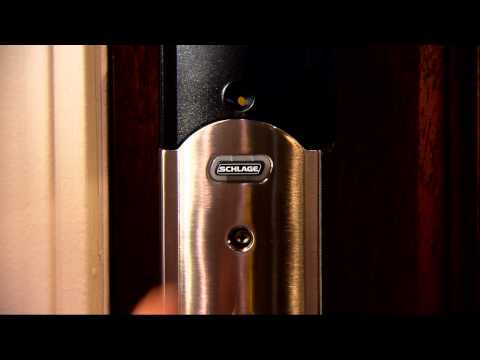 Schlage Connect™ - Using the Built-In Alarm