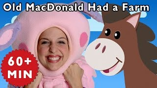 getlinkyoutube.com-Old MacDonald Had a Farm and More | Nursery Rhymes from Mother Goose Club!