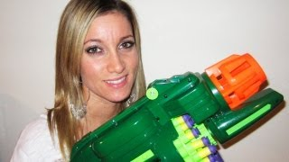 getlinkyoutube.com-NERF GUN BATTLE
