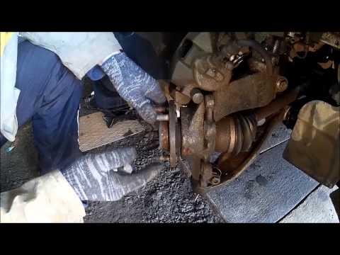 Форд Фокус 3 замена колесной шпильки передней ступицы