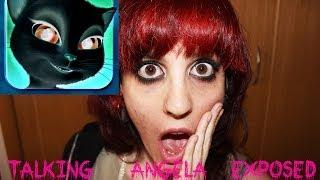getlinkyoutube.com-Talking Angela isn't Hacked Proof Here / No hacker / Talking Angela isn't dangerous/ Call Hoax
