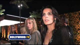 chanel-: Angie Harmon Talks Lindsay Lohan and Sushi