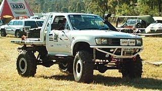 Solid Axle Hilux X Flex Econo Lift Kit Stage 3 - Snake Racing