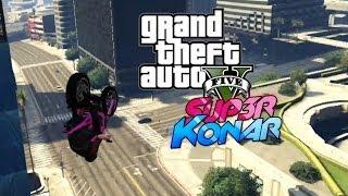 getlinkyoutube.com-GTA Online: Mode éditeur ! Course de moto sur les toits (Live créer une map)