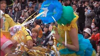 getlinkyoutube.com-TDL【珍ハプニング】ヒッピティ・ホッピティ・スプリングタイム 2016.4.3 ダンサーさん悲鳴編