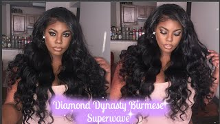 getlinkyoutube.com-Diamond Dynasty Virgin Hair| Burmese Superwave Review