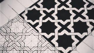getlinkyoutube.com-Weaving Octagrams Into Geometric Pattern ✴ ( How To )