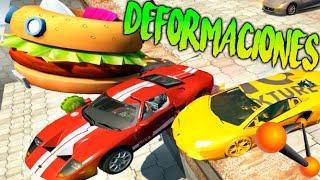 SUPER DEFORMACIONES Y DESTRUCCIONES DE COCHES!! BEAMNG.DRIVE Makiman