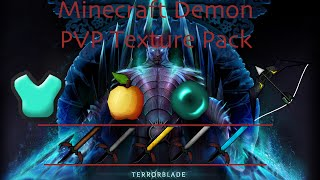 getlinkyoutube.com-Minecraft Demon PVP Texture Pack [Sick Swords, Cool Bow]