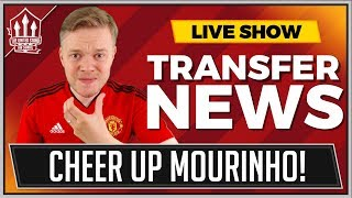 Goldbridge Mourinho Frustration! Man Utd Transfer News