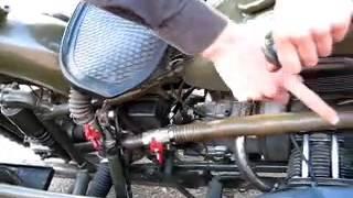 getlinkyoutube.com-Мотоцикл на дровах (газогенератор)