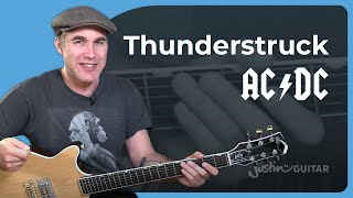 AC/DC - Thunderstruck Guitar Lesson Riff, Chords & Rhythms