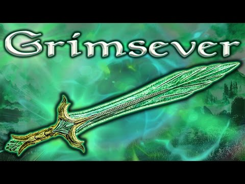 Skyrim SE - Grimsever - Unique Weapon Guide