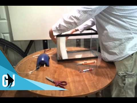 #44: How to Make a DIY Hamburg Mat Filter (Hamburger Mattenfilter) - DIY Wednesday
