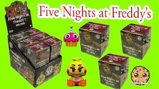 Full Box FNAF Funko Mystery Mini Blind Bag Boxes Surprise Five Nights At Freddy's Vinyl Figures