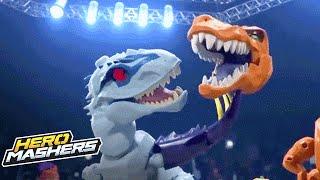 getlinkyoutube.com-Jurrasic World Hero Mashers – Ultimate Cage Mash (Episode 2) – Hasbro
