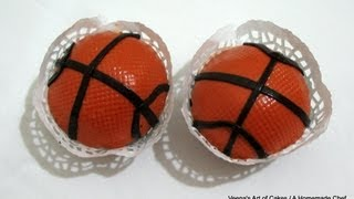 getlinkyoutube.com-BasketBall Cupcakes by VAOC