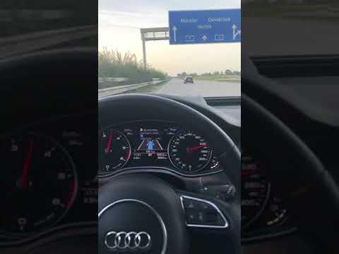 Ауди А6 на автобане
