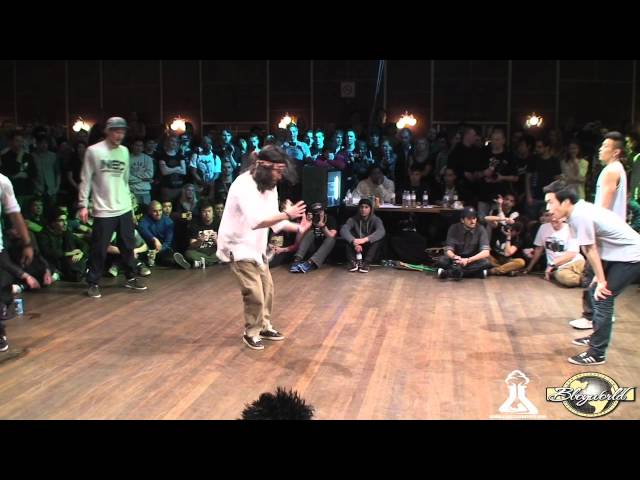 NATURAL EFFECTS vs CAY FUSION MC (FLOOR WARS 2012) WWW.BBOYWORLD.COM