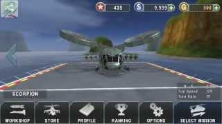 getlinkyoutube.com-Gunship Battle Old Version Hack