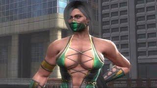 getlinkyoutube.com-Mortal Kombat 9 - Jade Alternate Costume Classic Arcade Ladder Gameplay Playthrough