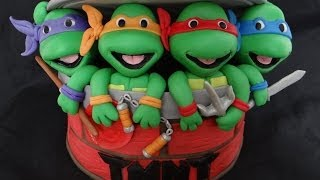 getlinkyoutube.com-How To Make Fondant Ninja Turtles