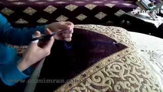 getlinkyoutube.com-طريقة برم او فتل خيط الطرز الدرس تاني مع ام عمران tarz Arab Embroidery