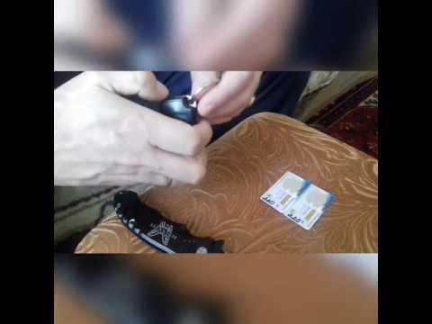 Замена батареек в ключе зажигания мерседес w210