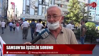 Samsun sokak röpotajı: İşsizlik sorunu