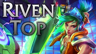 getlinkyoutube.com-League of Legends | Arcade Riven Top - Full Game Commentary