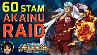 getlinkyoutube.com-Walkthrough for Akainu 60 Stamina Raid [One Piece Treasure Cruise]