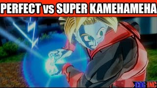 getlinkyoutube.com-Dragon Ball Xenoverse - Perfect Kamehameha vs Super Kamehameha