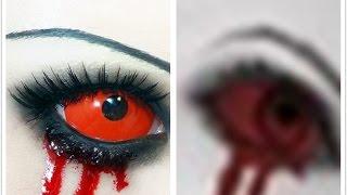 getlinkyoutube.com-Tutorial : Anime Eye Makeup 106 • Alice Liddell ( Hysteria Mood )