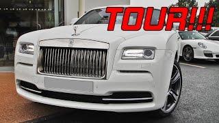 getlinkyoutube.com-Rolls-Royce Wraith (Ex John Terry) - Interior and Exterior Tour!