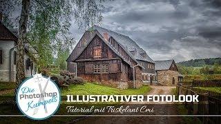 getlinkyoutube.com-Illustrativer Fotolook / Photoshop CC / Lightroom Color Efex Pro