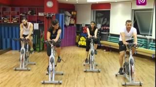 getlinkyoutube.com-رياضة - حركة - تمارين باستخدام الدرجات الهوائية الثابتة