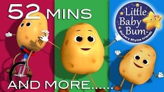 getlinkyoutube.com-One Potato Two Potato | Plus Lots More Nursery Rhymes | from LittleBabyBum!