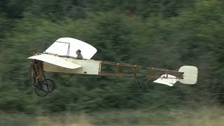getlinkyoutube.com-Bleriot XI World's Oldest Flying Aeroplane