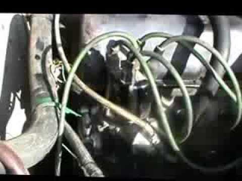 Как открутить гайку на шкиве колевала и заменить сальник!