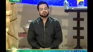 getlinkyoutube.com-Mojze Mere Rasool Nabi sallallaahualaihiwasallam Ke Pehchan Ramzan Amir Liaquat 1 August 2012 Seher