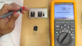 getlinkyoutube.com-How To Test a MOSFET Transistor Using a Multimeter