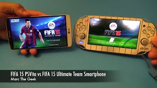 FIFA 15 PSVita vs FIFA 15 Ultimate Team Smartphone (LG G3)