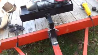 getlinkyoutube.com-Homemade winch mount trailer quick connect.