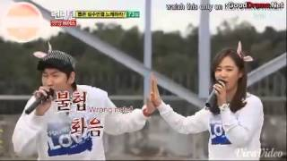 getlinkyoutube.com-[CUT] Running Man Ep 63 - Kwangsoo sings with Yuri