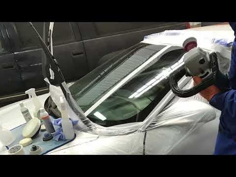 Видео-обучение полировке стекла   Pontiac Firebird