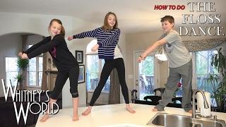 getlinkyoutube.com-How to do the Floss Dance   Whitney Bjerken